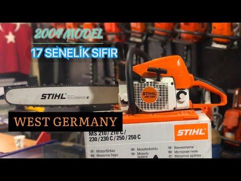 MS 290 STIHL TÜRKİYEDE TEK SATILIK 2004 MODEL/ZERO STIHL CHAİNSAW(MADE IN GERMANY)#STIHL #GERMANY