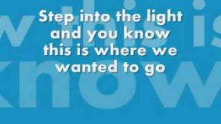 RED Step Into The Light Lyrics