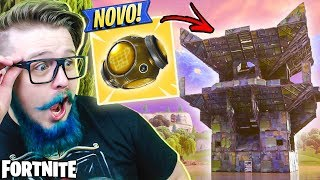 ☆ NEW ITEM ☆ LEGENDARY FORTRESS AND LEAKED SKIN! -FORTNITE