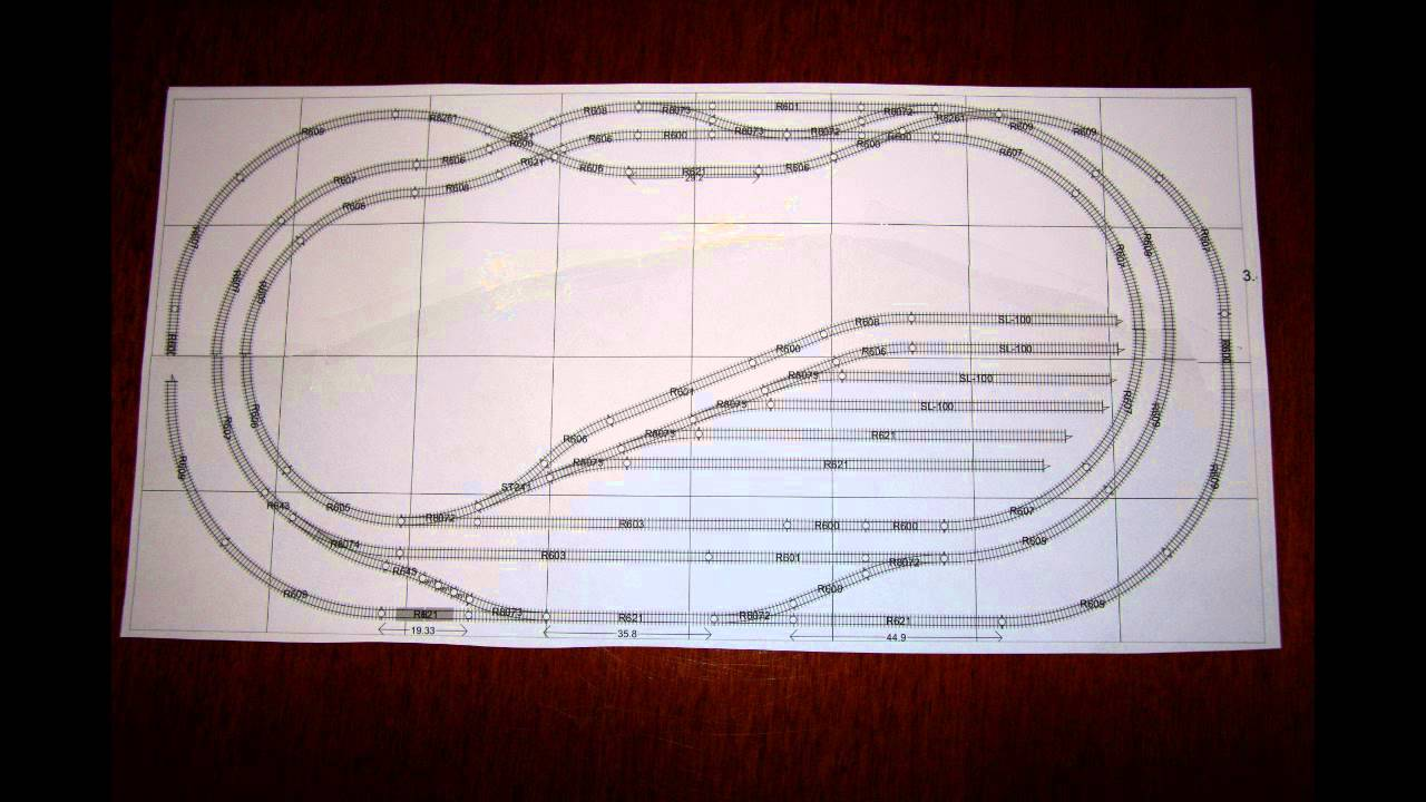 Model Railway Wiring Diagram