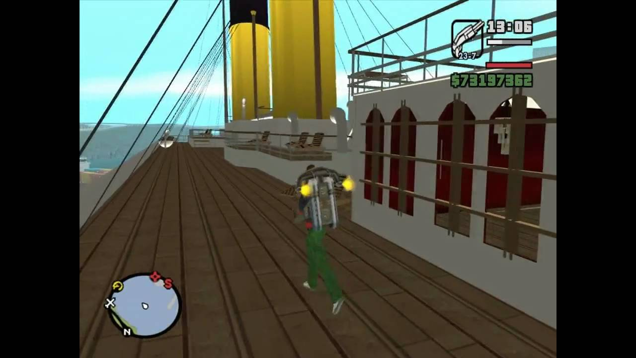 Gta San Andreas RMS Titanic Mod Download YouTube