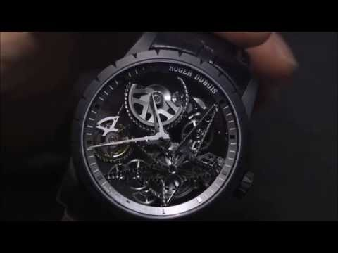Roger Dubuis Excalibur 42 Automatic Skeleton Watch Hands-On | aBlogtoWatch