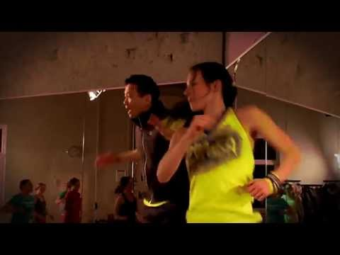 Zumba® Fitness Köln mit Ramona und Pio Suh im Studio Dein Herzschlag® - Promo