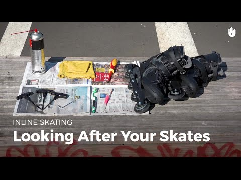 How to Clean Skates | Inline Skating