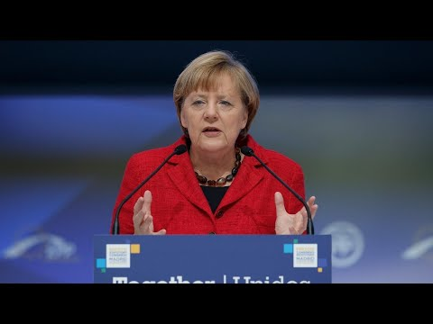Thumbnail: Merkel projected to remain German chancellor