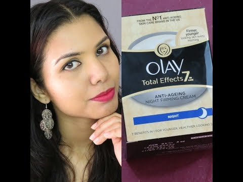 Olay Total Effects 7 In One Anti-Ageing Night Firming Cream- Review | omnistyles