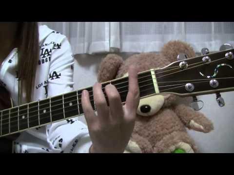 YUI Kiss me 弾き語り/cover