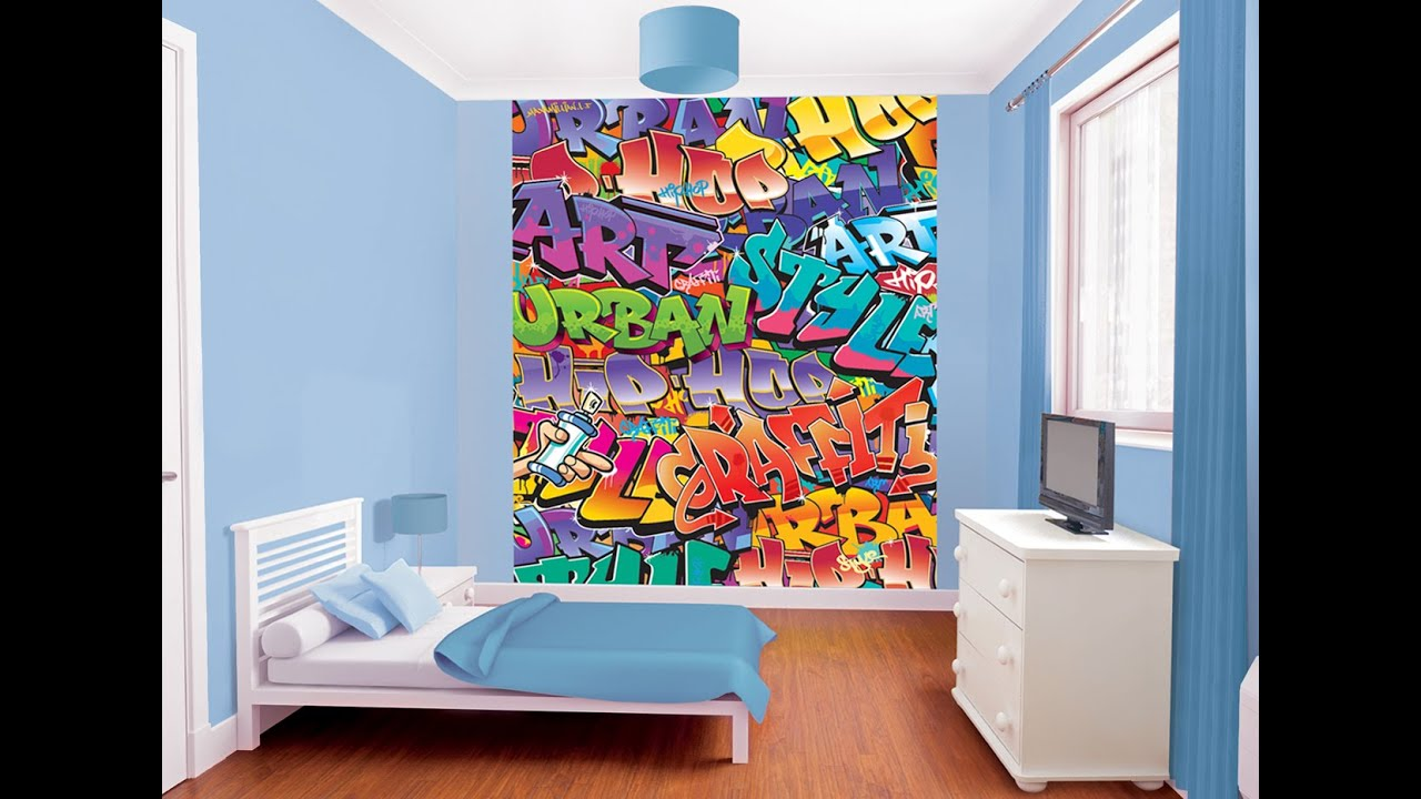 Graffiti wall art bedroom - Graffiti Wall Art Bedroom 20