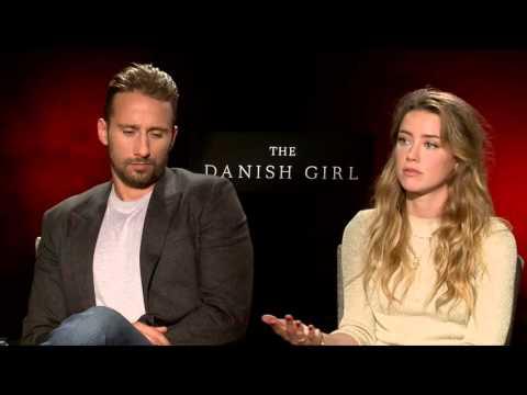 Matthias Schoenaerts & Amber Heard  THE DANISH GIRL  with Scott Carty