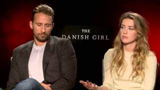 Matthias Schoenaerts & Amber Heard | THE DANISH GIRL | with Scott Carty