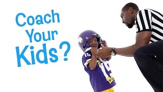 SHOULD YOU COACH YOUR OWN CHILD? | DADvice with Greg Jennings