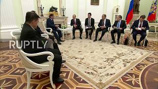 Russia: Philippine Pres. Duterte cuts Moscow trip short after Marawi attack