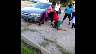 Repeat youtube video Kendall , run run ,babyd, bre, fight in the grove
