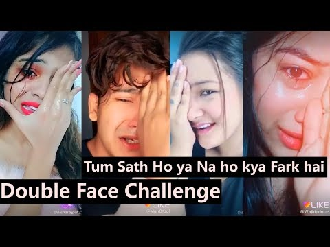Double Face Challenge Like App Videos | Manjul Khattar, Aashika Bhatia