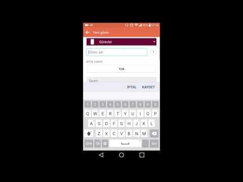 Android Telefon ve Tabletlerde Ses İle Yazı Yazma
