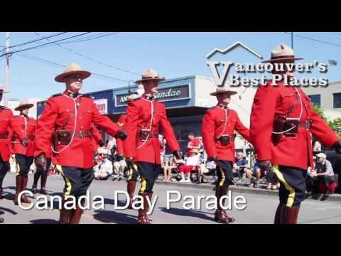 Vancouver Canada Day Video
