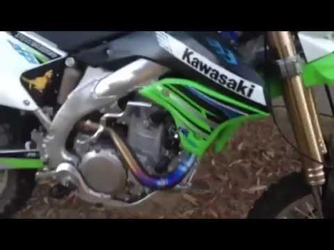 kawasaki klx450r ti4 gp low boy pro circuit jd jet kit - youtube