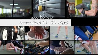 Fitness Pack 01 (21 clips) / Free Stock Footage