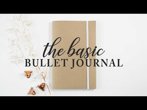 Dot Grid Paper Printable - Free Bullet Journal Page