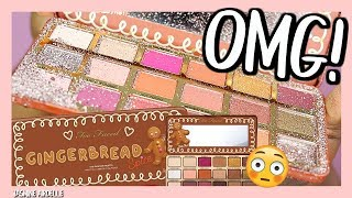 OMG!! How Could this Happen?? Too Faced Gingerbread Spice Eyeshadow Palette First Impression!
