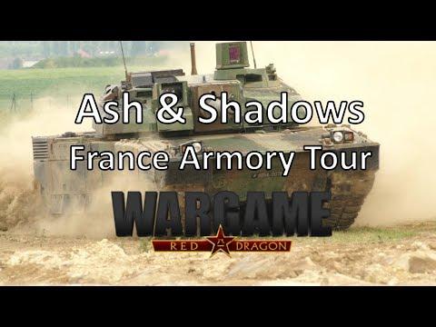 Wargame Red Dragon - Ash & Shadows - France Armory Tour