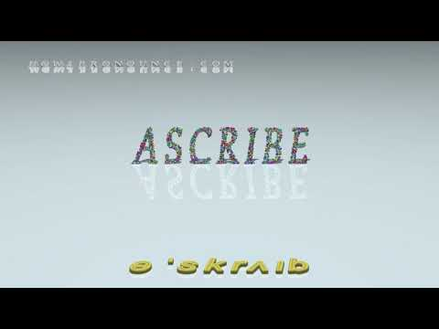 Ascribe Examples