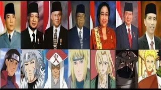 Naruto, Similar Hokage Naruto The Movie President of Indonesia