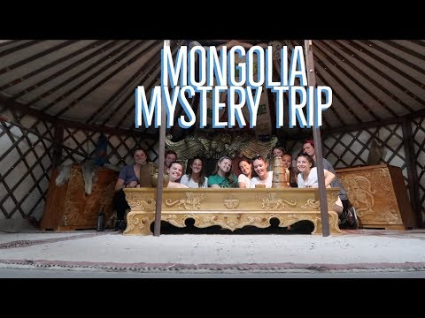 RUSTIC PATHWAYS MYSTERY TRIP 2018 PART 1 II MONGOLIA