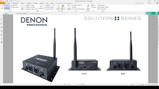 [Test] Denon DN-202WT/WR