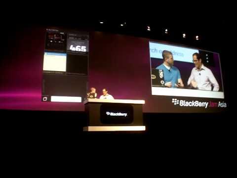 BlackBerry Jam Asia Keynote 2012 - Part 2