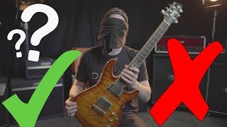 Can I recognize my own guitars BLINDFOLDED?!