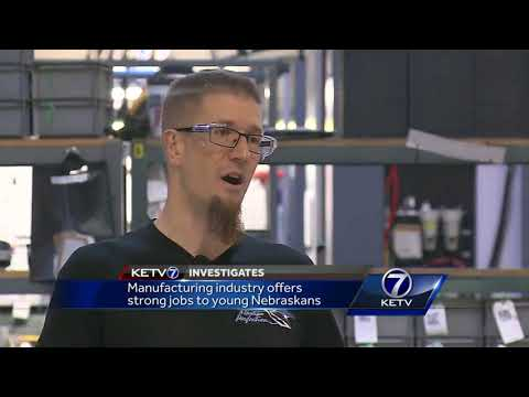 Manufacturing industry offers strong jobs to young Nebraskans