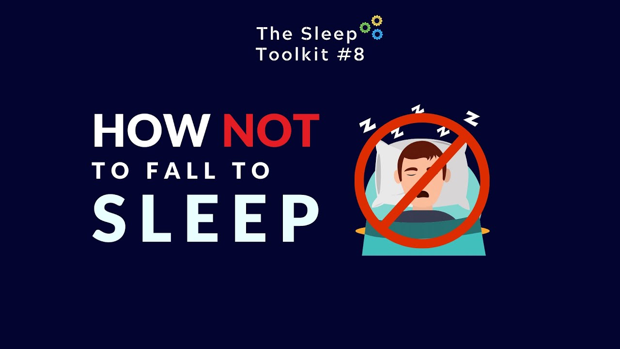 How not to fall asleep