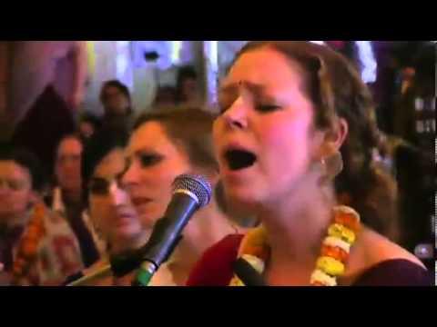 Jahnavi Devi Dasi at Kirtan Mela Mayapur 2014 Day 2 | Bhajan, Bhakti, Chanting of Mahamantra, ISKCON