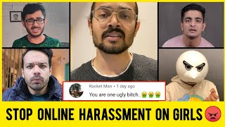 Youtubers React To Mean Comments 😠 | Ft. Bb Ki Vines , Carryminati and More | Anisha Dixit