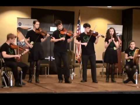 Center for Irish Music Advanced Student Ensemble Compete Midwest Fleadh 2013