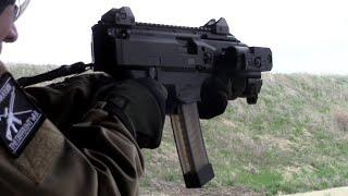 cz scorpion evo 3 s1 9mm pistol first shots
