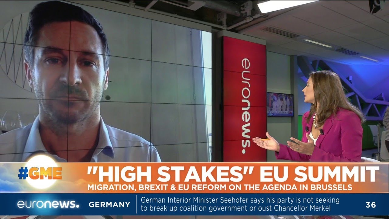 """""""High Stakes"""" EU Summit: Migration, Brexit and EU reform on the agenda in Brussels"""