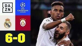 Rodrygo-Dreierpack bei Kantersieg: Real Madrid - Galatasaray 6:0 | UEFA Champions League | DAZN