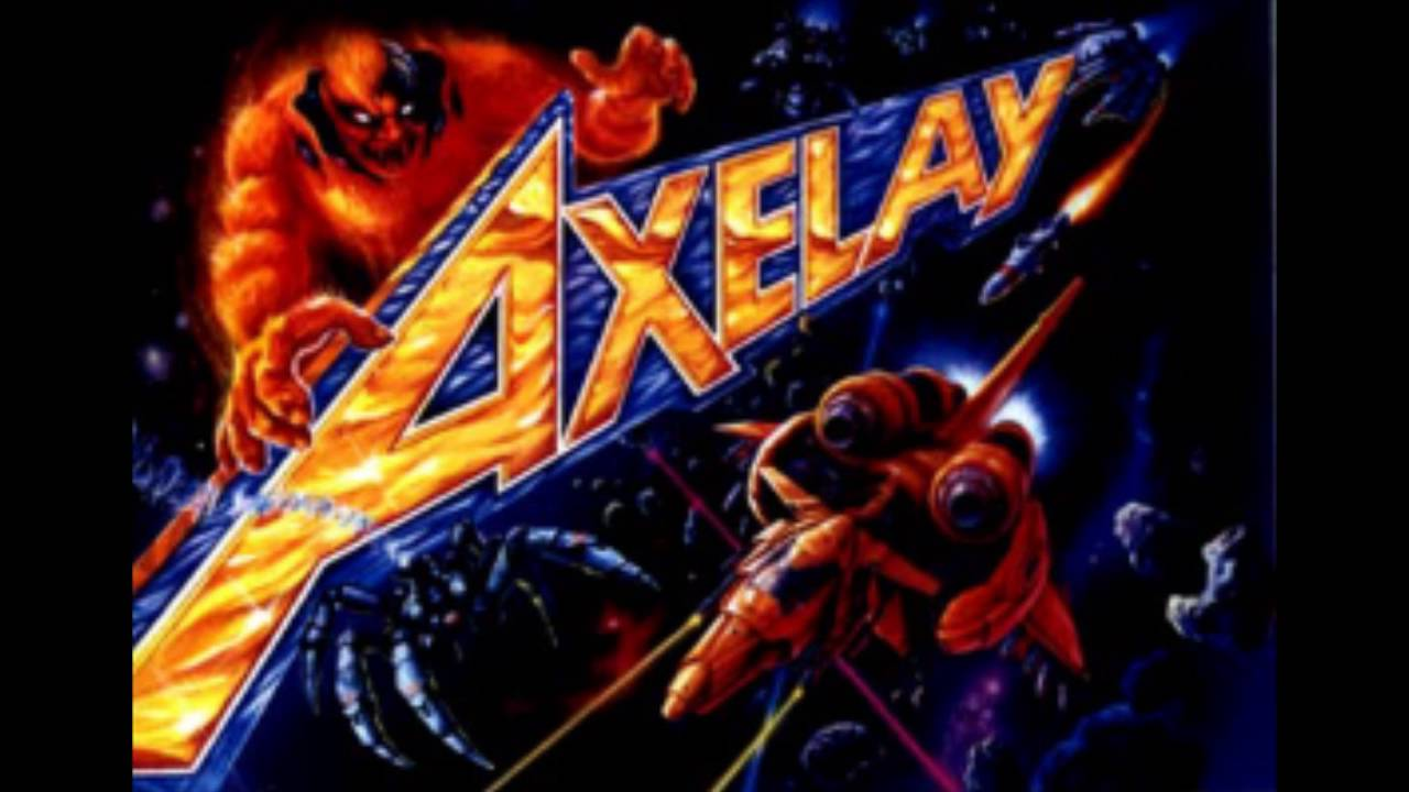 Axelay Snes Stage 1 Metal Cover Youtube