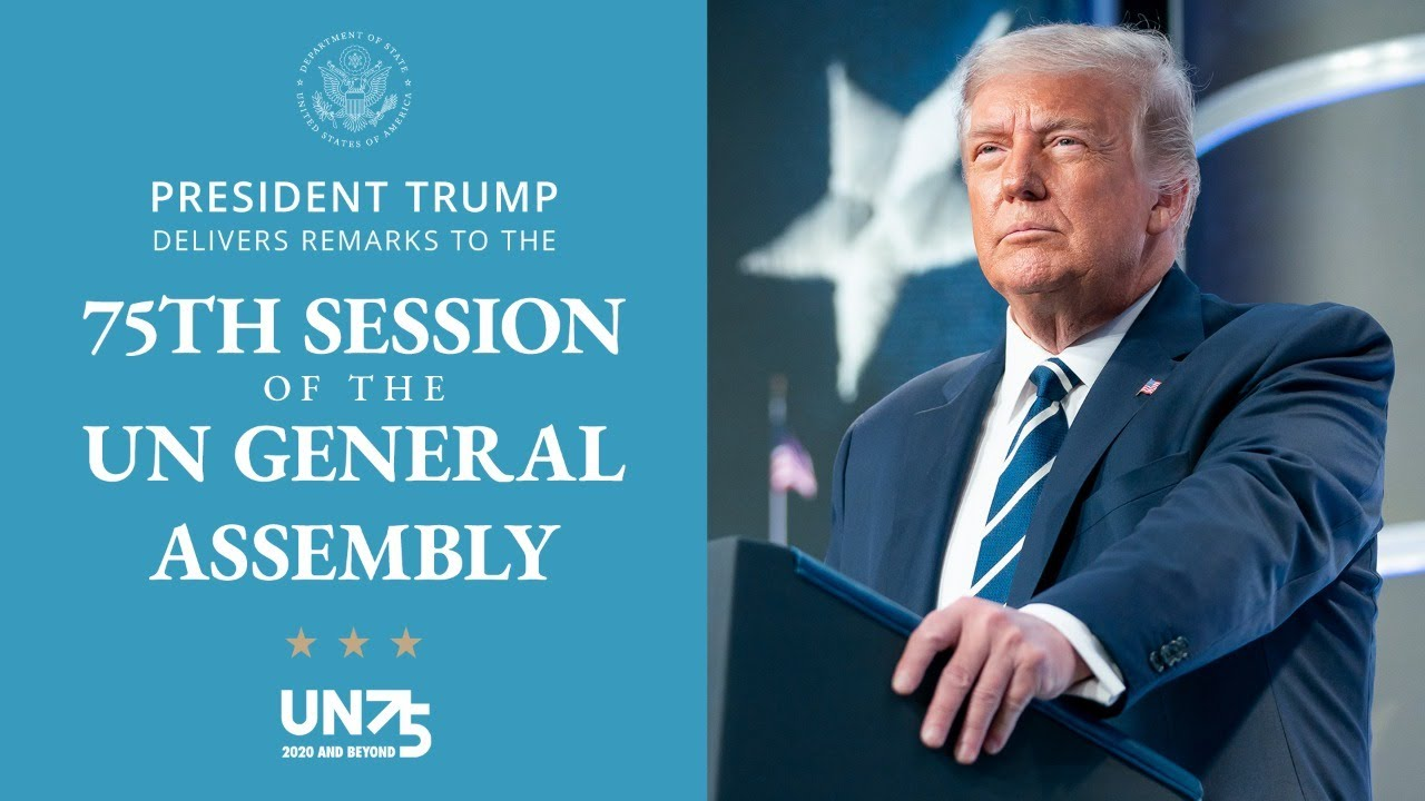 President Trump Delivers Remarks to the United Nations - 10:00 AM