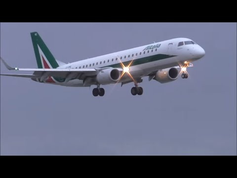 Windy + Rainy Planespotting at London City Airport 10/12/15 - Part 1 of 3
