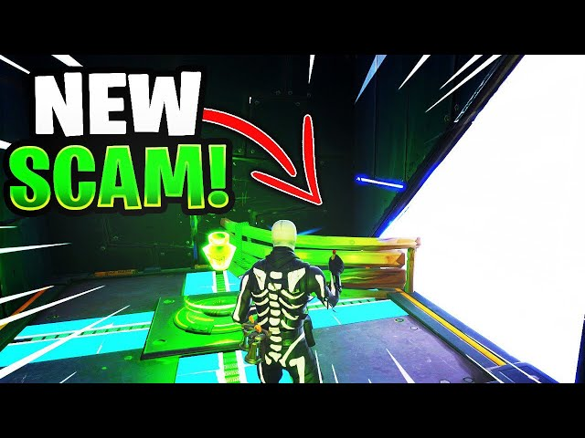 *NEW SCAM* The Death Barrier Scam! (Scammer Gets Scammed) Fortnite Save The World