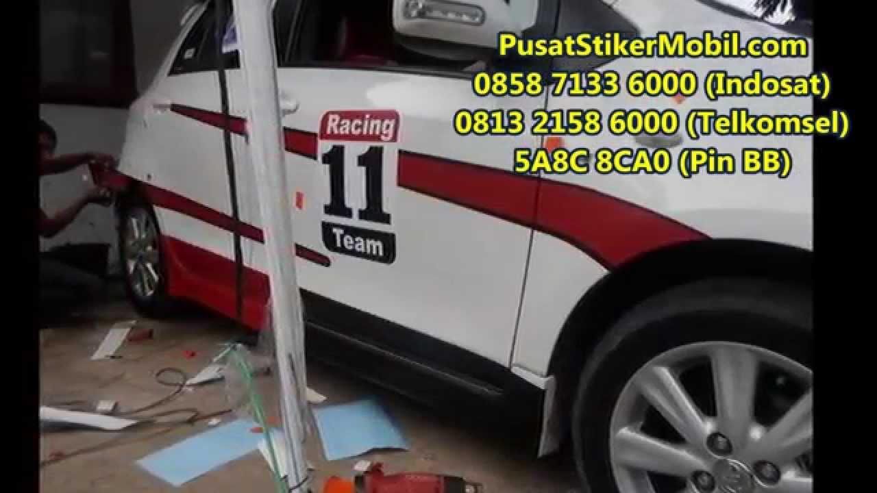 0815 7195 825 (Indosat), Sticker Mobil, Cutting Stiker
