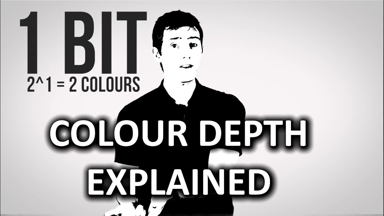 How Colour Depth Affects Image Quality as Fast As Possible - YouTube