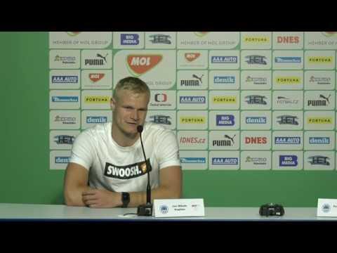 Tisková konference FC Slovan Liberec před finále MOL Cupu