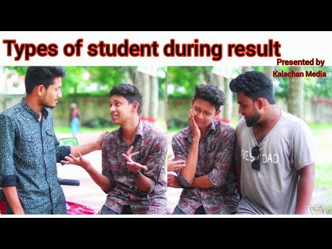 Types Of Students During Result।।New Funny Video।।presented By Kalachan Media