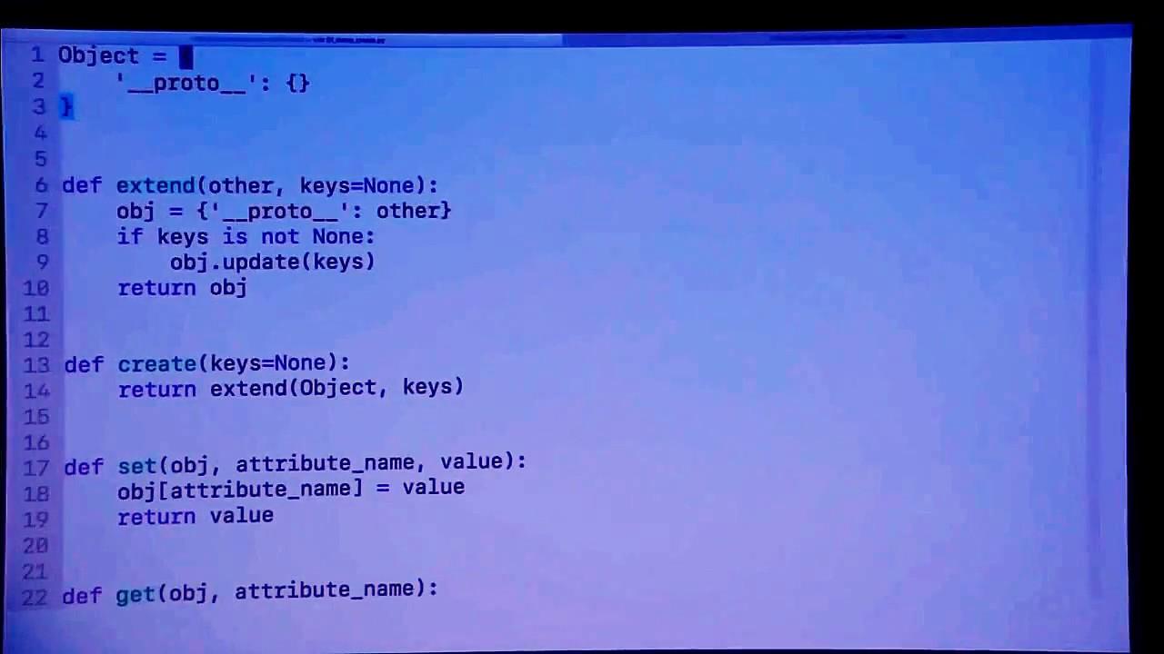 Image from Prototipinio OOP įgyvendinimas su Python