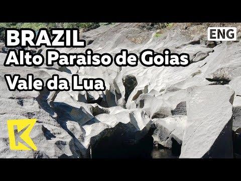 【K】Brazil Travel-Alto Paraiso de Goias[브라질 여행-알토파라이소데고이아스]발레 다 루아/Vale da Lua/Moon/Valley/Sao Jorge
