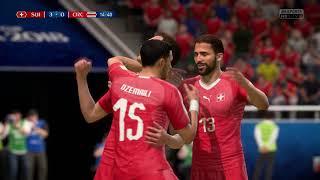 FIFA 18 | 2018 FIFA World Cup Russia - Group E Switzerland 🇨🇭 vs Costa RIca 🇨🇷